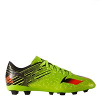 Adidas Messi 15.4 FxG Football Boots - Kids - Lime
