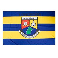GAA Longford 5x3 Crested Flag