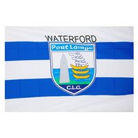 GAA Waterford 5x3 Crested Flag