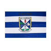 GAA Cavan 5x3 Crested Flag