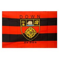 GAA Down 5x3 Crested Flag