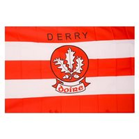 GAA Derry 5x3 Crested Flag