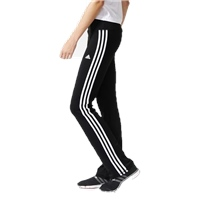 Adidas Womens Basic 3 Stripe Pant - Black
