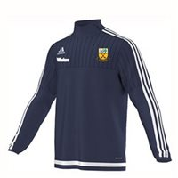 Adidas Beagh Hurling Tiro 15 Training Top Side Zip - Navy