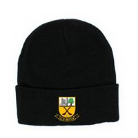 BeaghGAA Beagh Hurling Woolie Hat Crested - Black