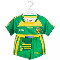 ONeills Donegal GAA Home Kit 2016 - Kids - Gold/Green