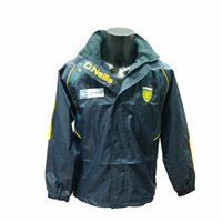 ONeills Donegal GAA Apex Rain Jacket - Navy/Bottle/Amber