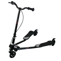Triker Flicker Scooter - Black