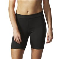 Adidas Womens Tech Fit 7inch Training Shorts - Black