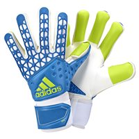Adidas Ace Zone Pro Goalkeeper Gloves - Sky/Green