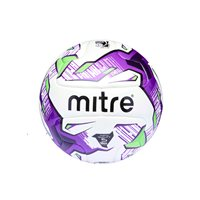 Mitre Promax Hyperseam Match Football - White/Purple