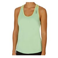 Reebok Workout Ready Racerbacl Long Bra Tank - Lime