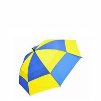 Mastercrest Supporters Umbrella - Blue/Yellow