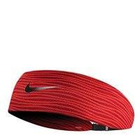 Nike Printed Adjustable Fury Headband - Red