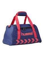 Hummel Authentic Sports Bag - Patriot Blue/Pink