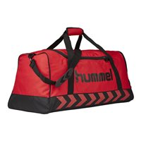 Hummel Authentic Sports Bag - Red/Black