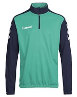 Hummel Core Half Zip Sweat - Aqua/Navy