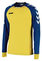 Hummel Core Kinetic Long Sleeve Jersey - Yellow/Royal