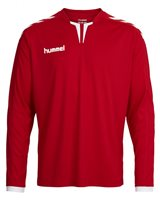 Hummel Core Long Sleeve Poly Jersey -  Red