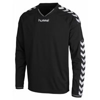 Hummel Stay Authentic Long Sleeve Poly Jersey - Black