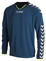 Hummel Stay Authentic Long Sleeve Poly Jersey - Legion Blue