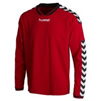 Hummel Stay Authentic Long Sleeve Poly Jersey - Red