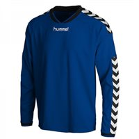 Hummel Stay Authentic Long Sleeve Poly Jersey - Royal