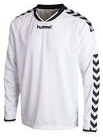 Hummel Stay Authentic Long Sleeve Poly Jersey - White