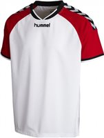 Hummel Stay Authentic Poly Jersey - White/Red