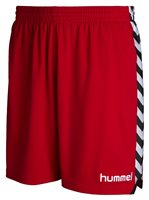 Hummel Stay Authentic Poly Shorts - Red