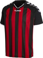 Hummel Stay Authentic Striped Jersey - Black/Red