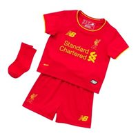 New Balance Liverpool Home Infant Kit 16/17 - Red
