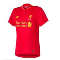 New Balance Liverpool Home Kids S/S Jersey 16/17 - Red
