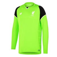 New Balance Liverpool Kid Goalkeeper L/S Jersey 16/17 - Lime