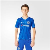 Adidas Chelsea Kids Home S/S Jersey 16/17 - Royal/White