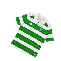 New Balance Celtic FC Kids Home S/S Jersey 16/17 - White/Green