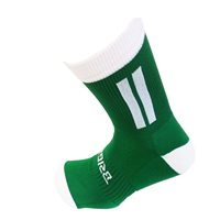 Briga Midi Football Sock - Green/White