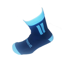 Briga Midi Football Sock - Navy/Sky