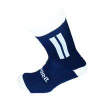 Briga Midi Football Sock - Navy/White