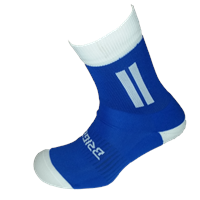Briga Midi Football Sock - Royal/White