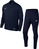 Nike Academy 16 Youth Knit Tracksuit 2 - Obsidian/Obsidian/Deep Royal Blue/White