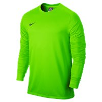 Nike L/Sleeve Youth Park Goalie II Jersey - Electric Green/Black
