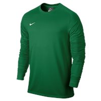 Nike L/Sleeve Youth Park Goalie II Jersey - Pine Green/White