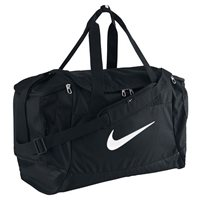 Nike Nike Club Team�Swoosh�Duffel - Black/Black/White