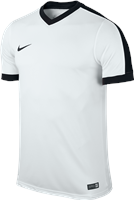 Nike S/Sleeve Youth Striker IV Jersey - White/White/Black/Black