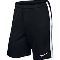 Nike Youth League Knit Short N/Brief - Black/White/White