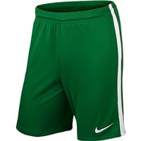 Nike Youth League Knit Short N/Brief - Pine Green/White/White