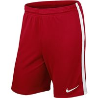 Nike Youth League Knit Short N/Brief - University Red/White/White
