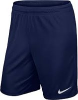 Nike Youth Park II Knit Short N/Brief - Midnight Navy/White