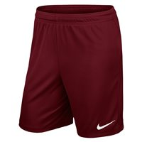 Nike Youth Park II Knit Short N/Brief - Team Red/White